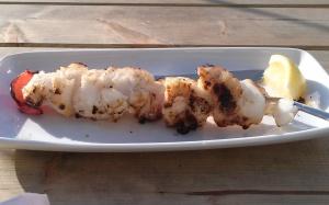 freshly grilled cod in Reykajvik