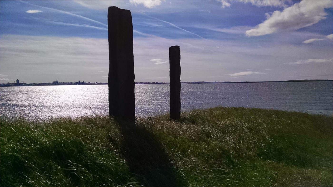 Pair of pillars, Afangar, Videy Island