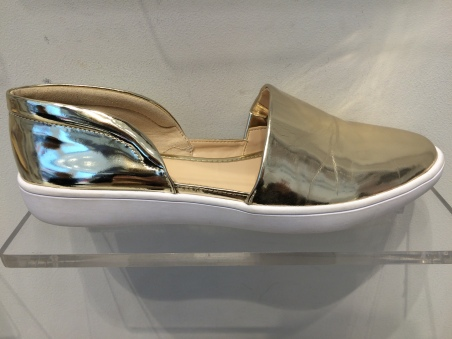 Nine West metallic shoes