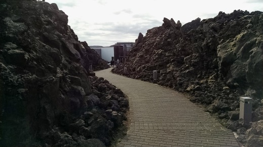 Path to Blue Lagoon- Iceland