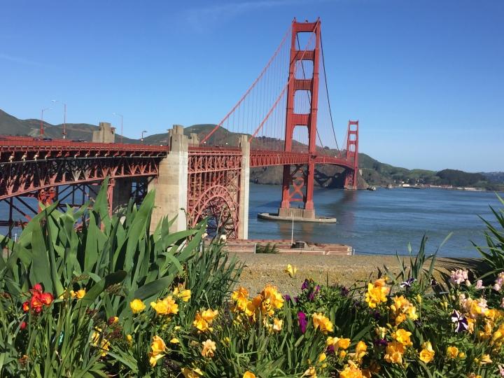 Golden Gate Bridge looking north