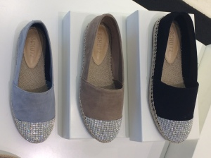 sparkly toes on espadrilles