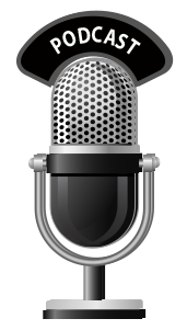 microphone and podcast image
